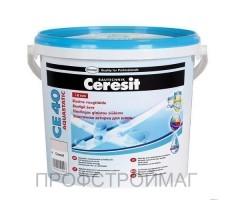 Затирка Церезит Ceresit CE-40 2кг